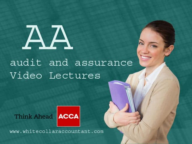 ACCA AA Video Lectures