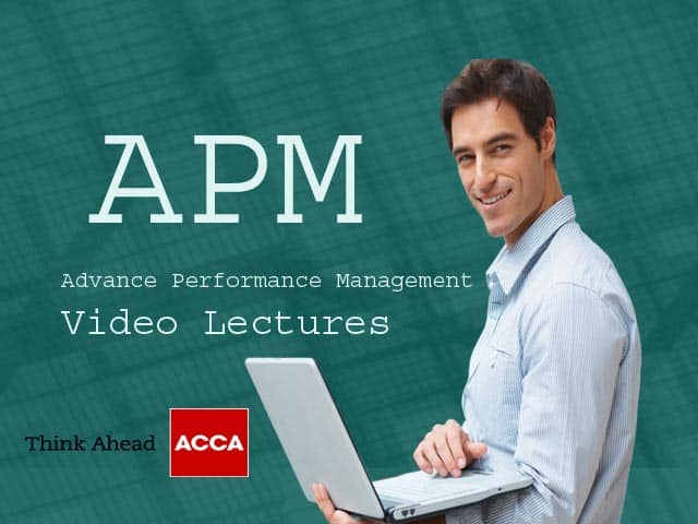ACCA APM Video Lectures