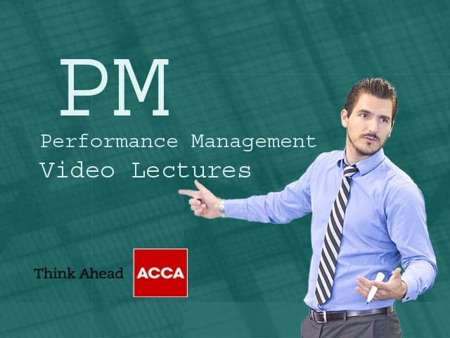ACCA PM Video Lectures