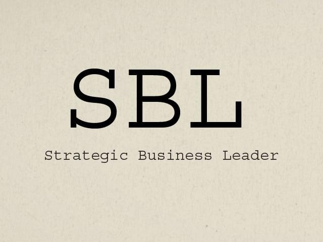 ACCA Strategic Business Leader SBL