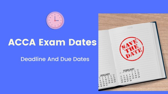 acca exam dates timetable