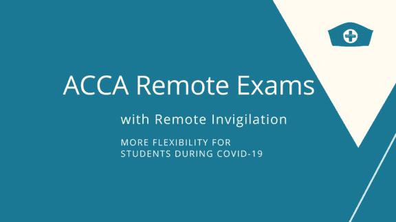 acca remote exam remote invigilation
